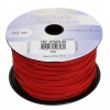 Faux Suede Lacing 50m Red